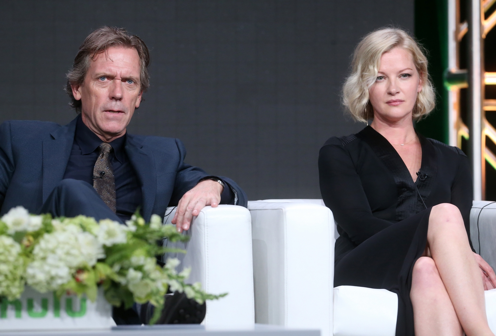 Hugh Laurie and Gretchen Mol