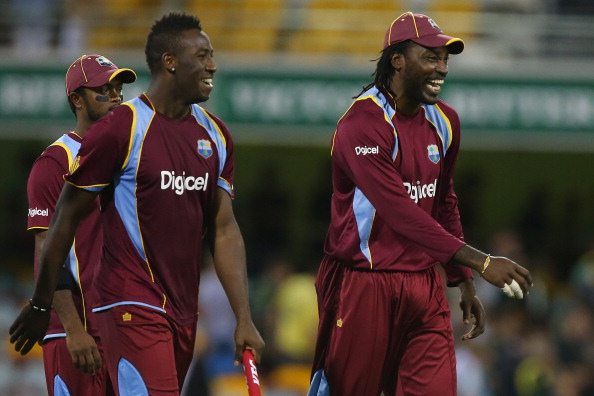 Andre Russell chris gayle