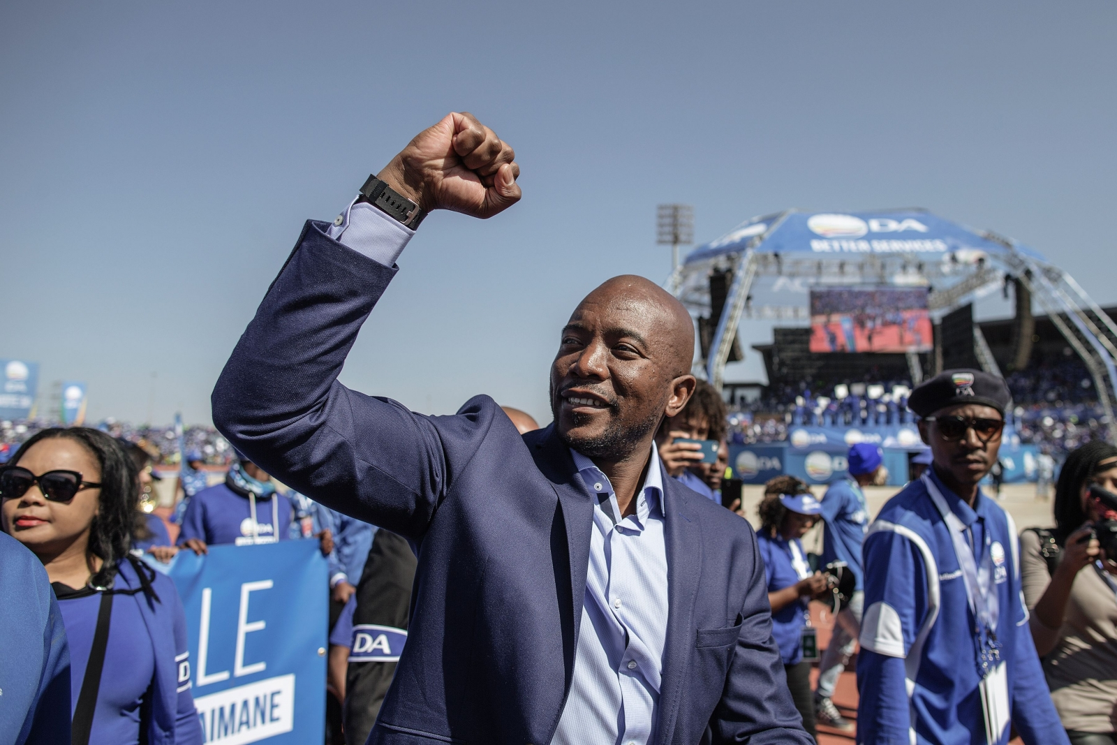 Democratic Alliance leader Mmusi Maimane