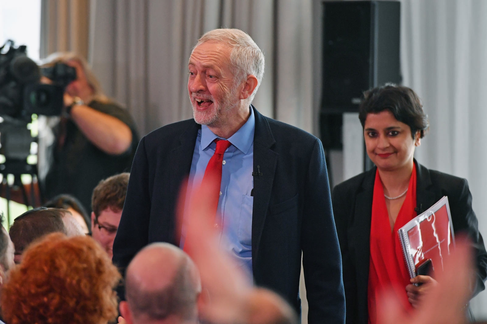 Corbyn and Chakrabarti
