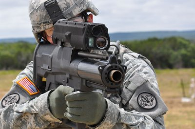 US Army Punisher XM-25 grenade launcher 1
