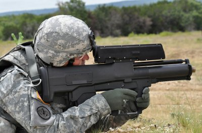 US Army Punisher XM-25 grenade launcher 2