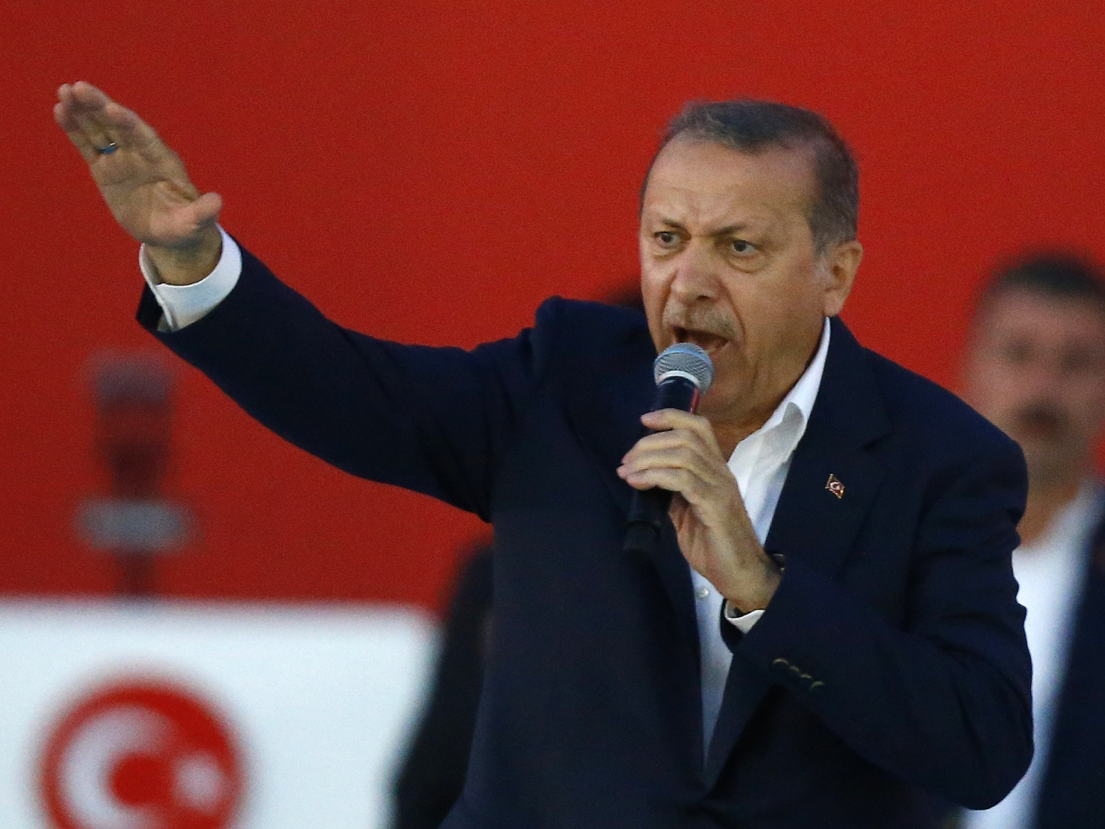 Erdogan Turkey rally