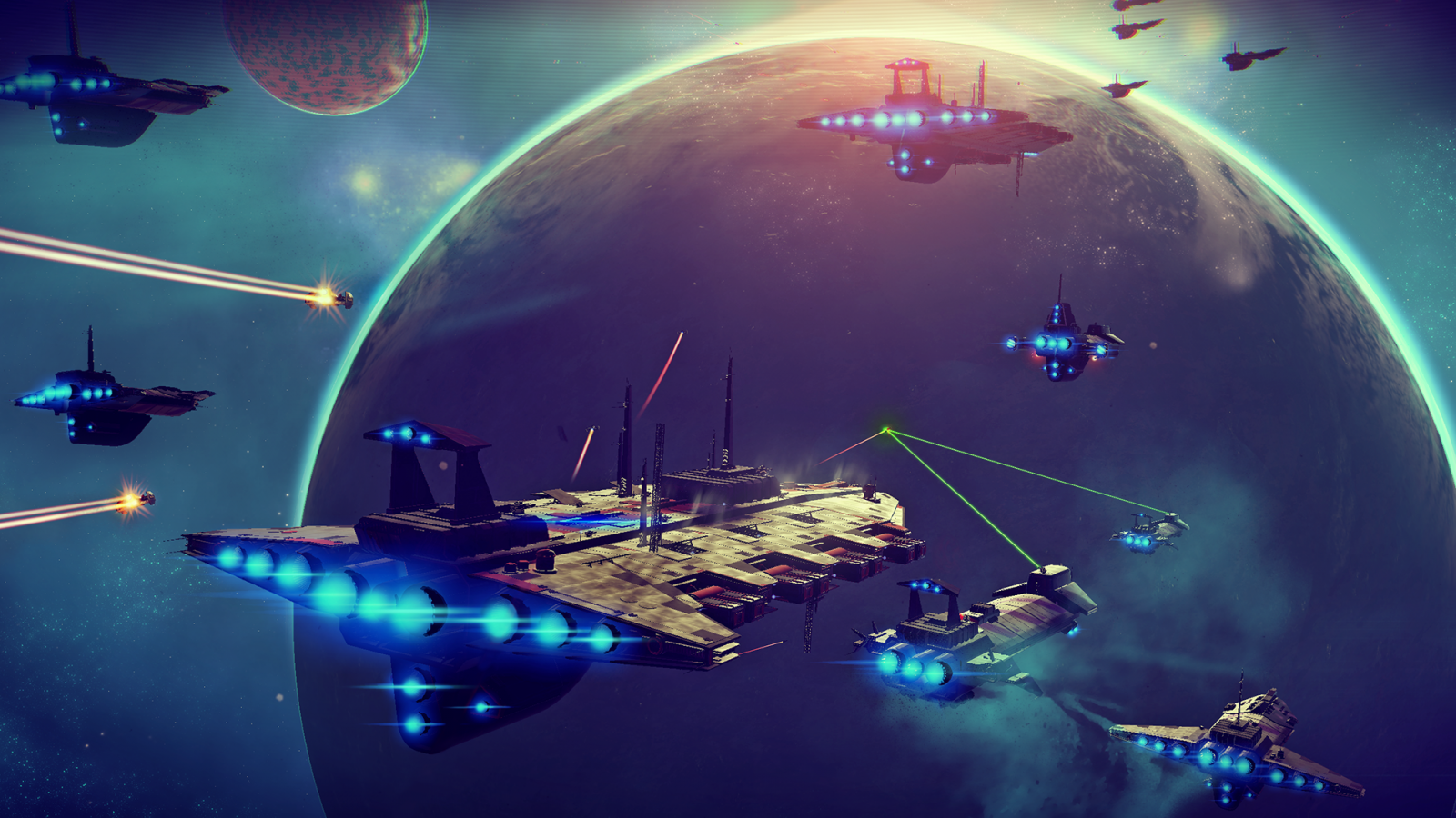 No Man's Sky screenshot space battle