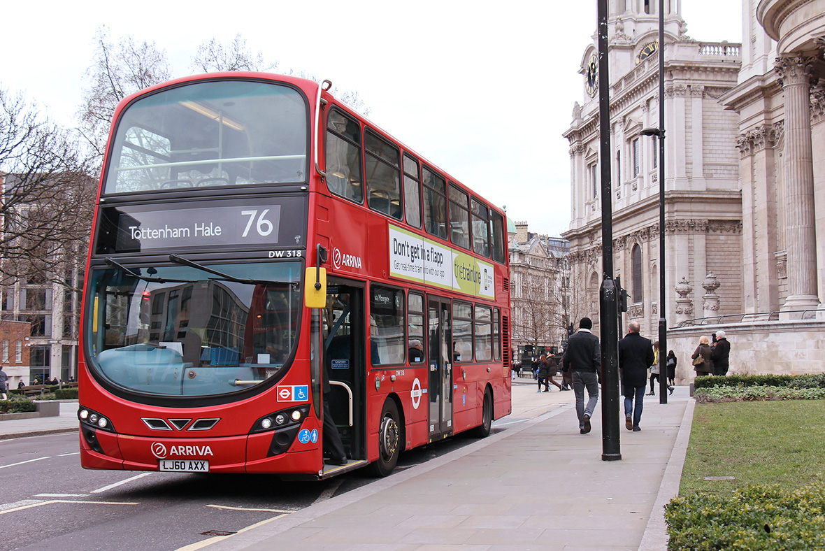 London buses now being powered by leftover coffee