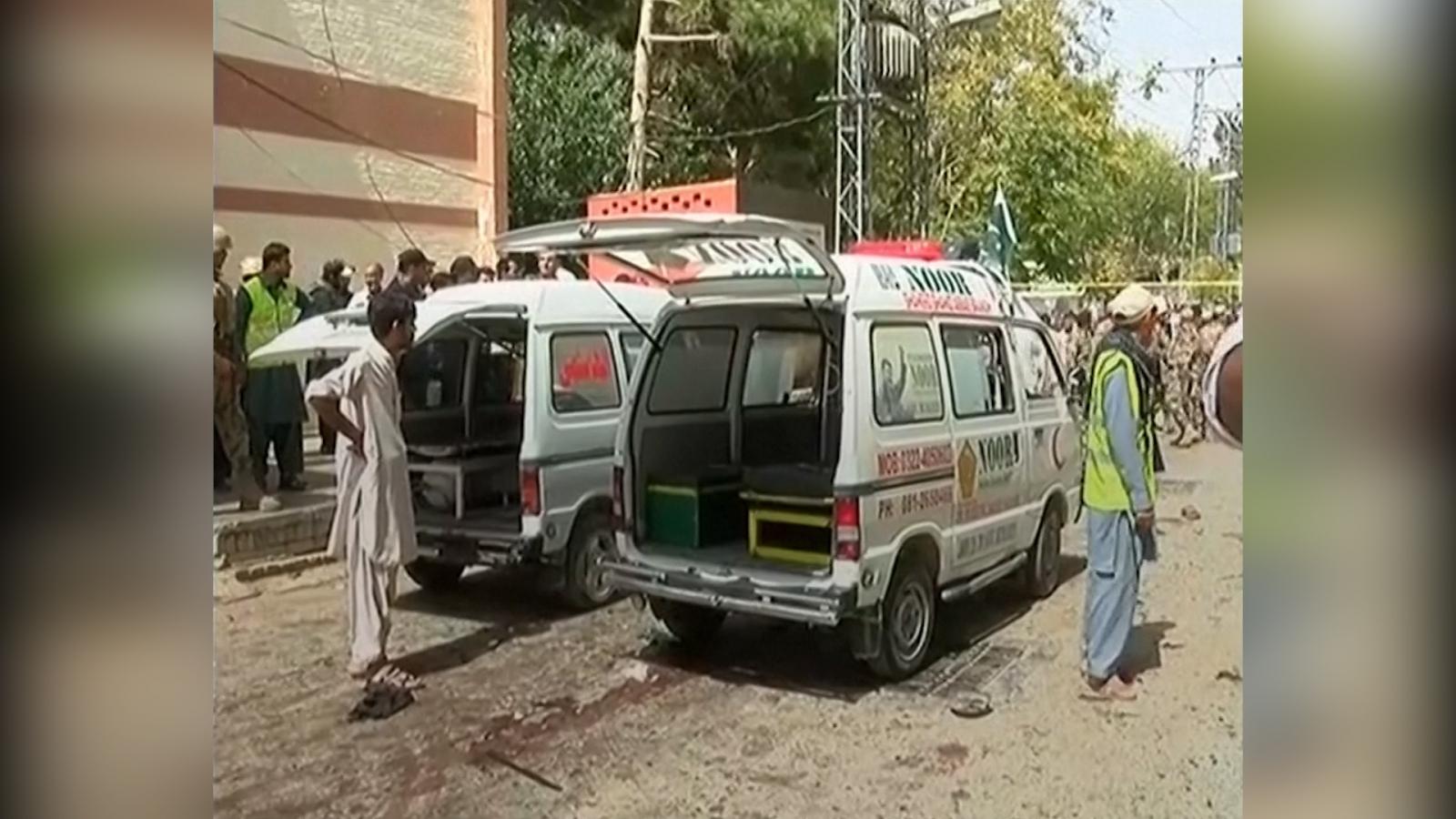 Pakistan hospital bomb attack