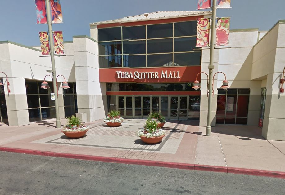 Yuba Sutter Mall, seen on Google
