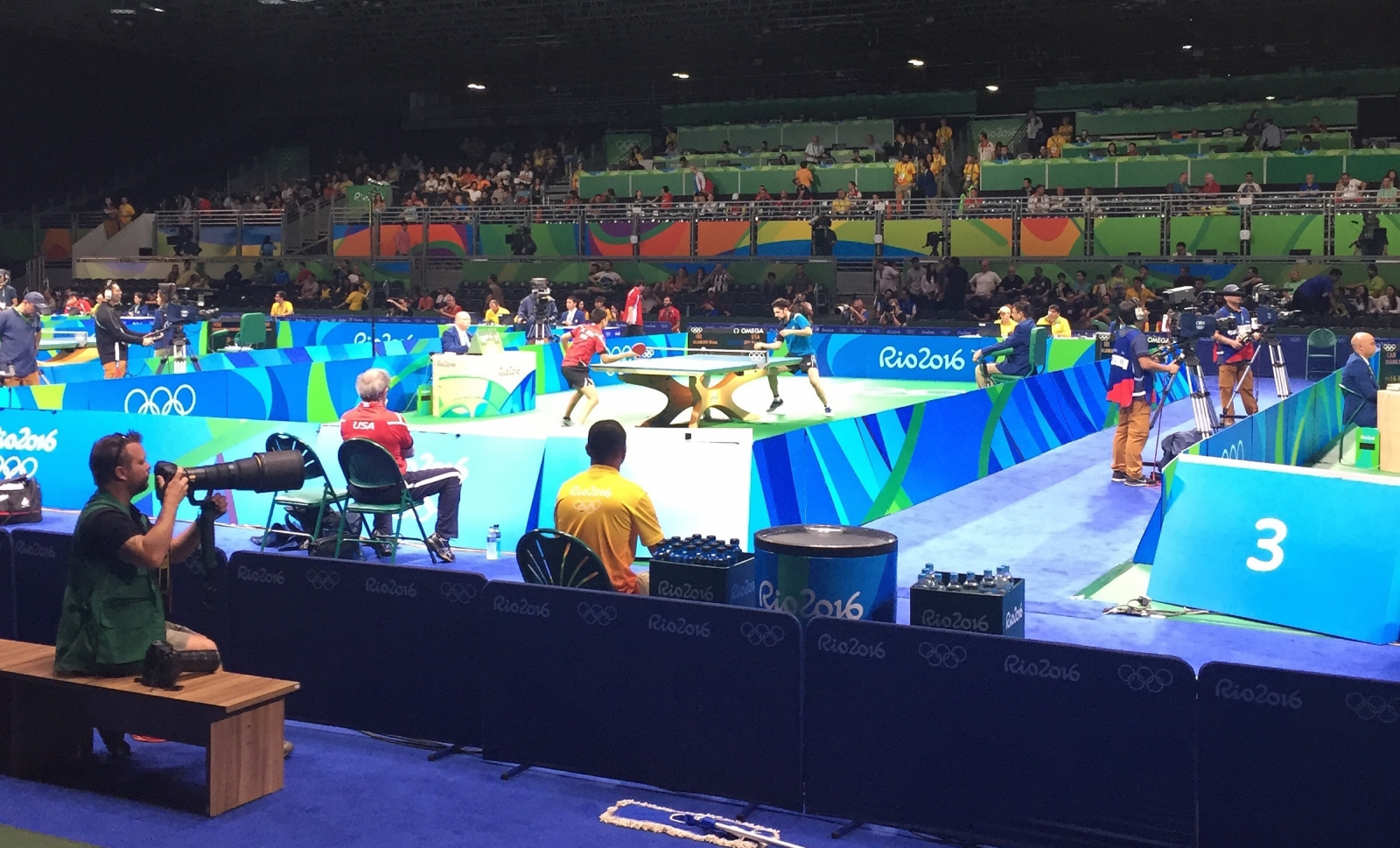 Rio 2016 table tennis
