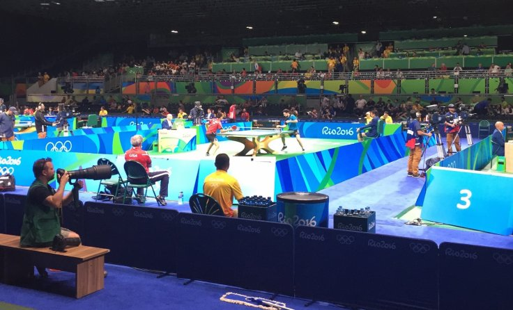 Rio 2016 table tennis