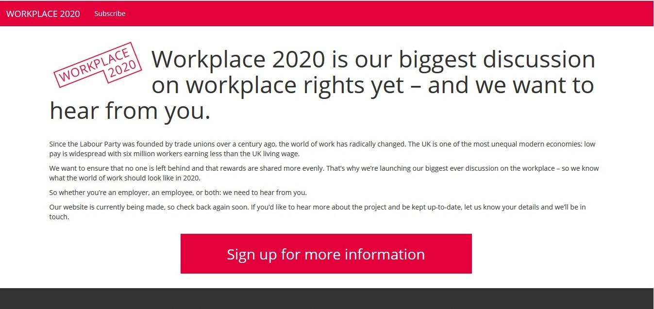 Workplace 2020