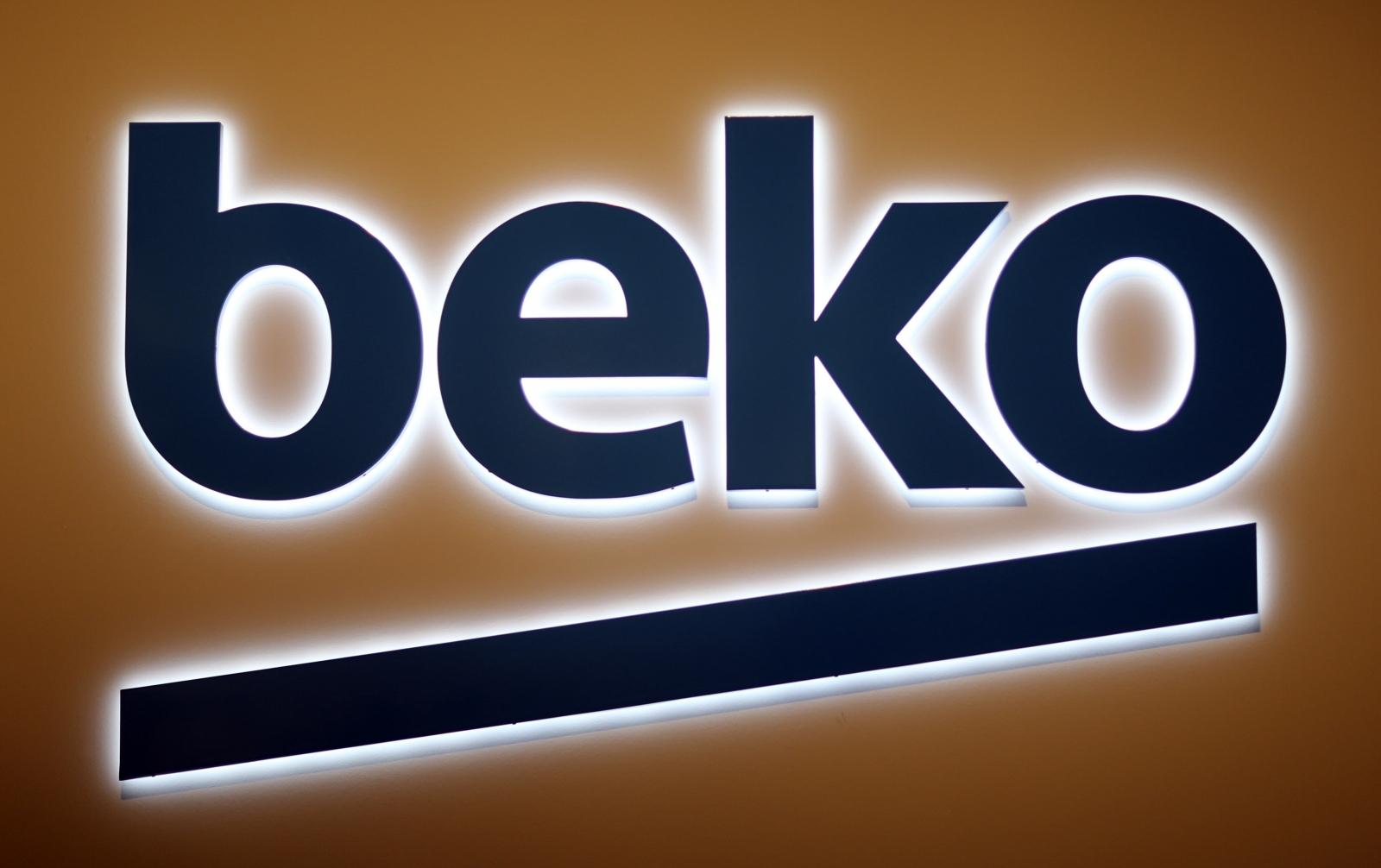Beko logo domestic appliances