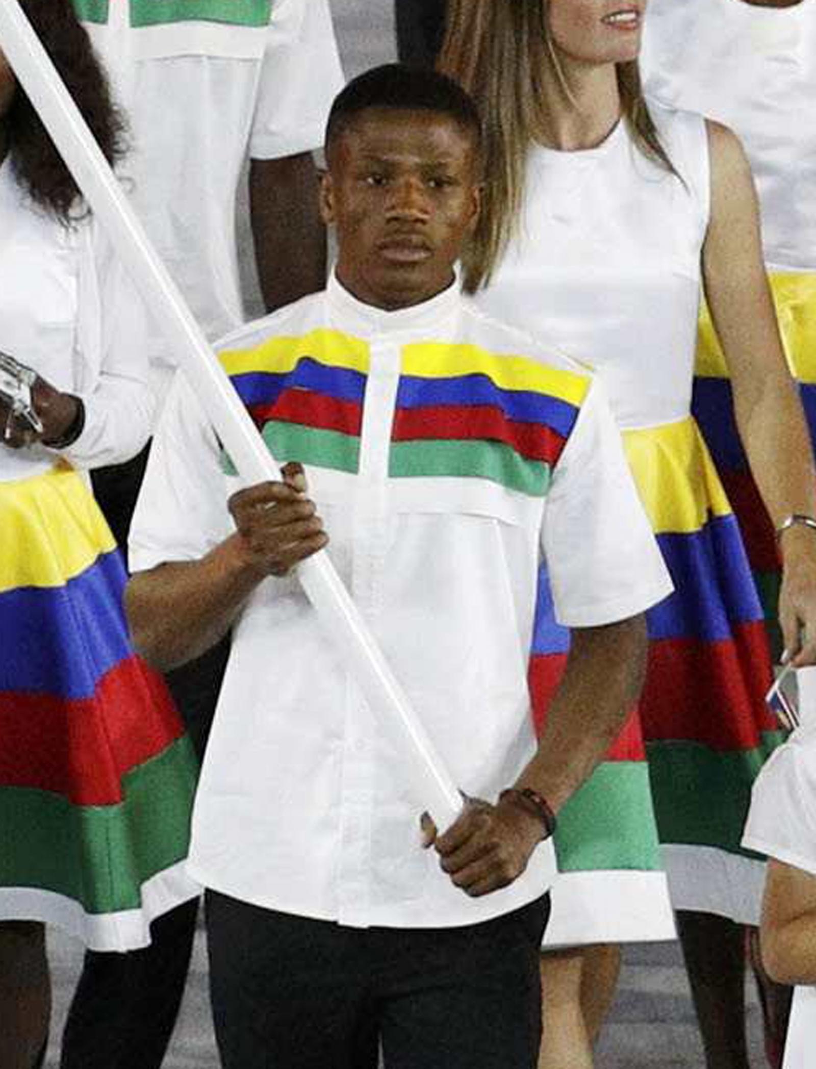 Namibian boxer Jonas Junius
