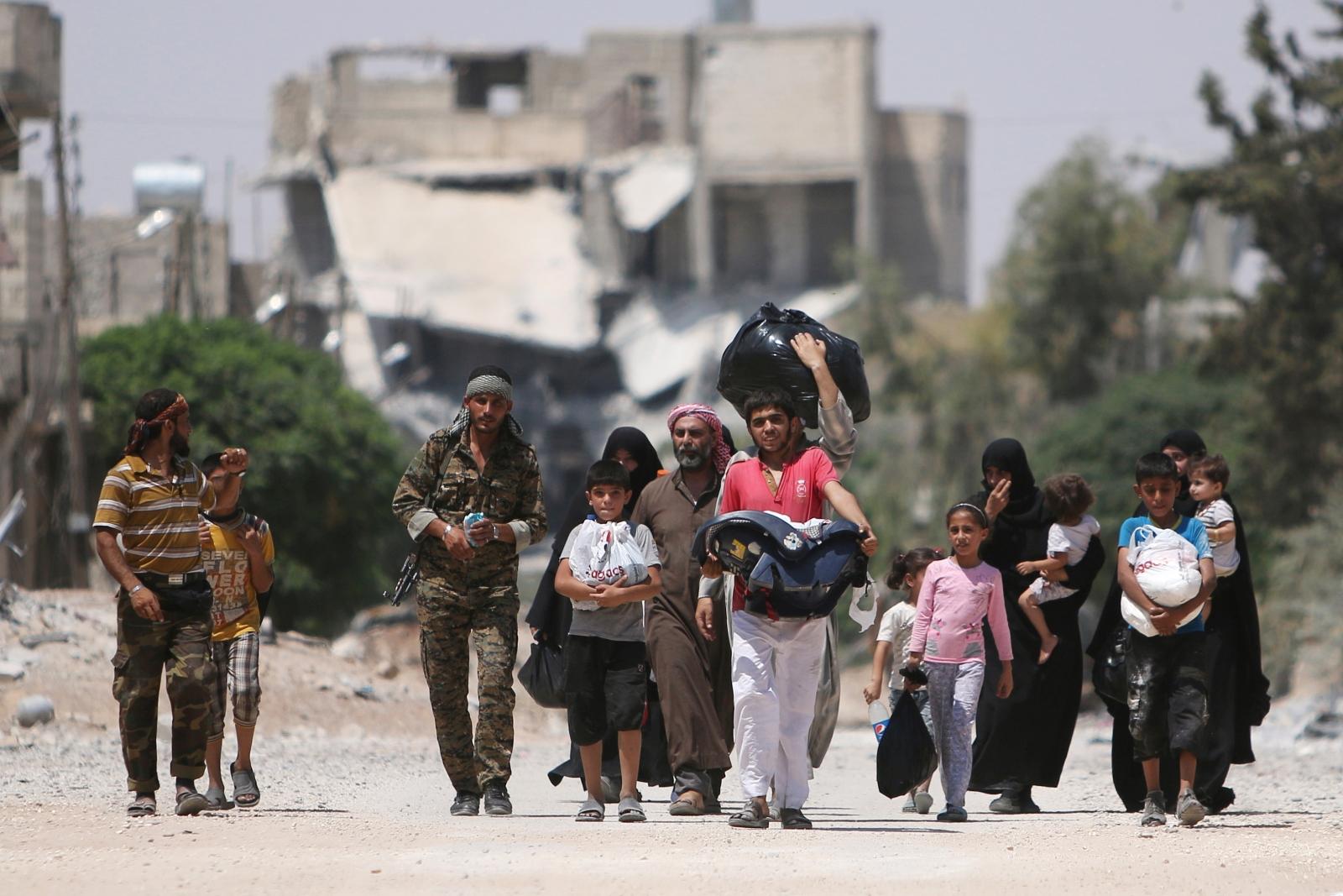 Syria civil war Aleppo