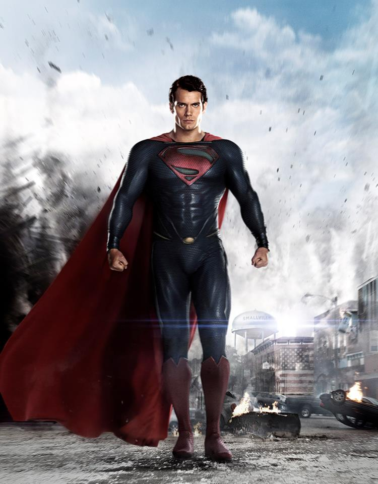 Henry Cavill As Superman Warner Bros
