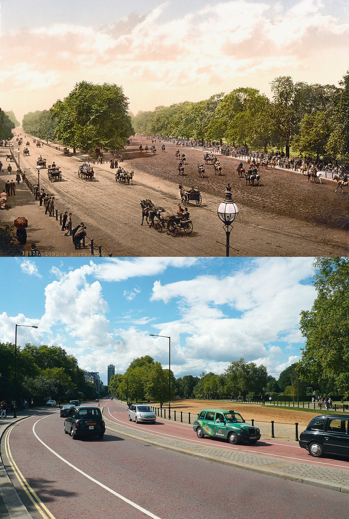 London: Then and Now
