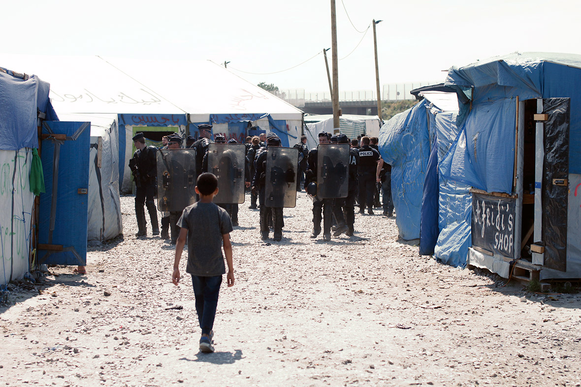 Evictions in Calais' Jungle