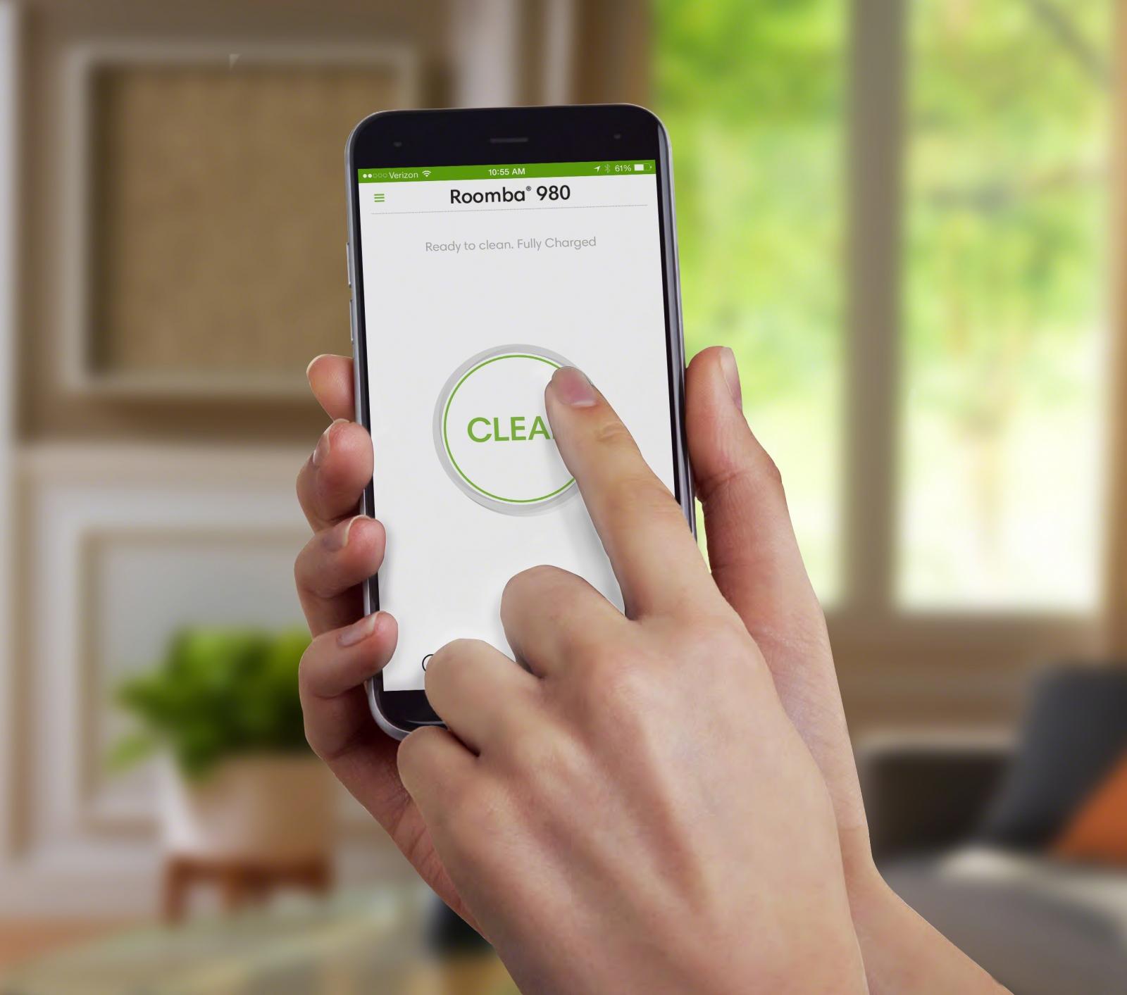 iRobot Roomba app