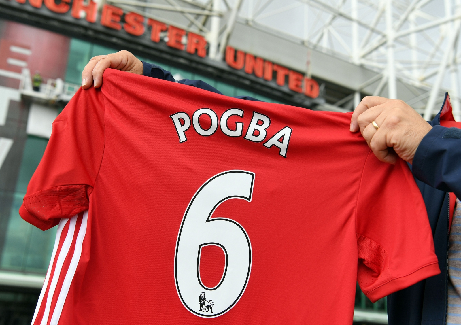 Paul Pogba no. 6