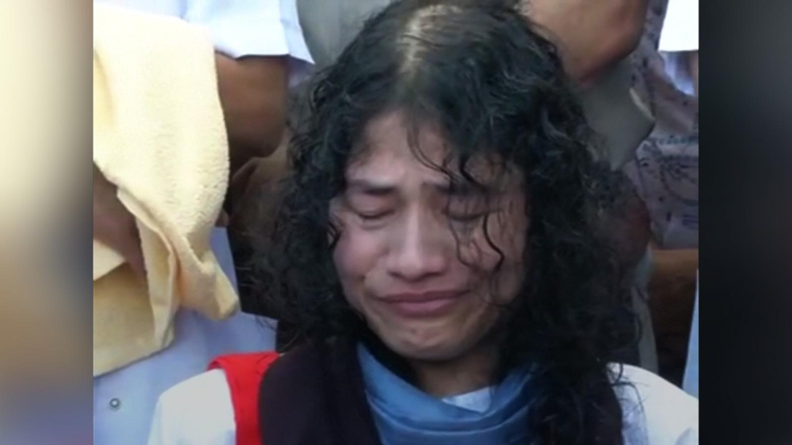 Human rights activist ends hunger strike