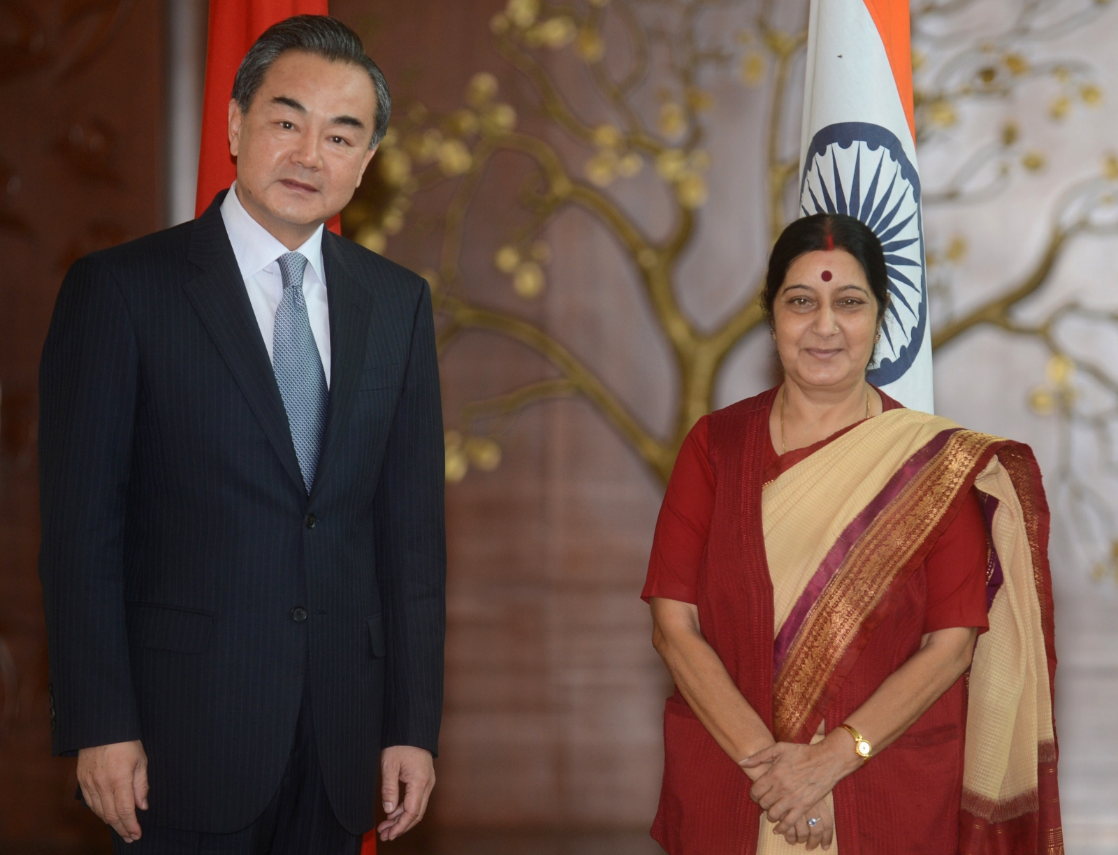 India and China Foreign Ministers