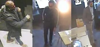 Images of three Byron suspects