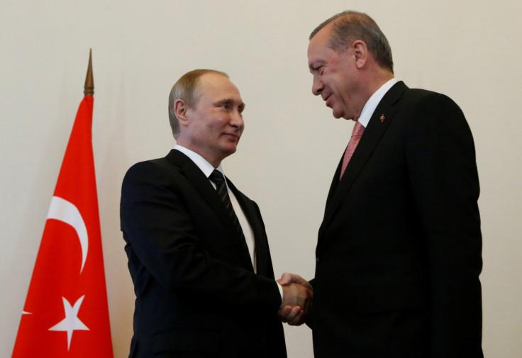 Erdogan and Putin