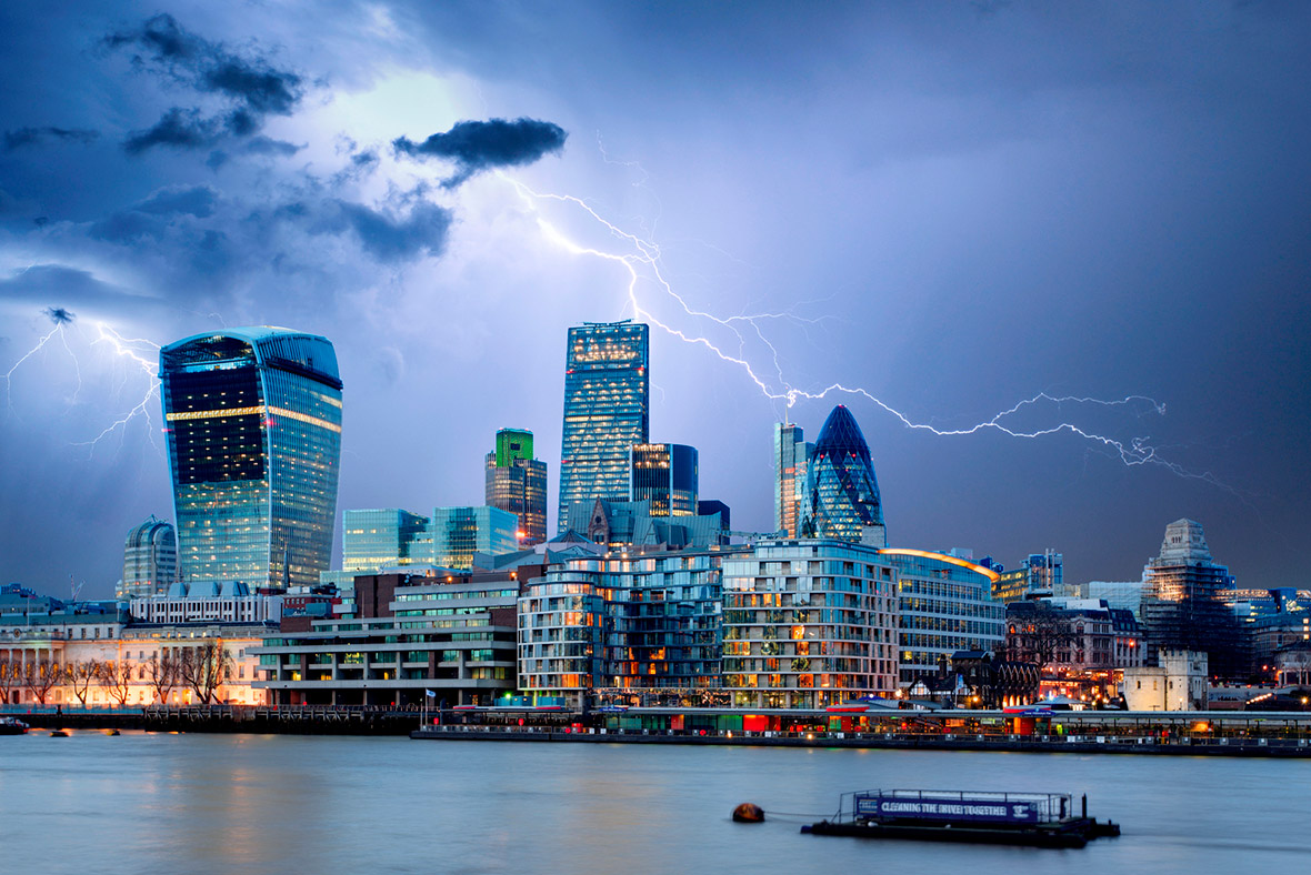 financial crisis city london istock