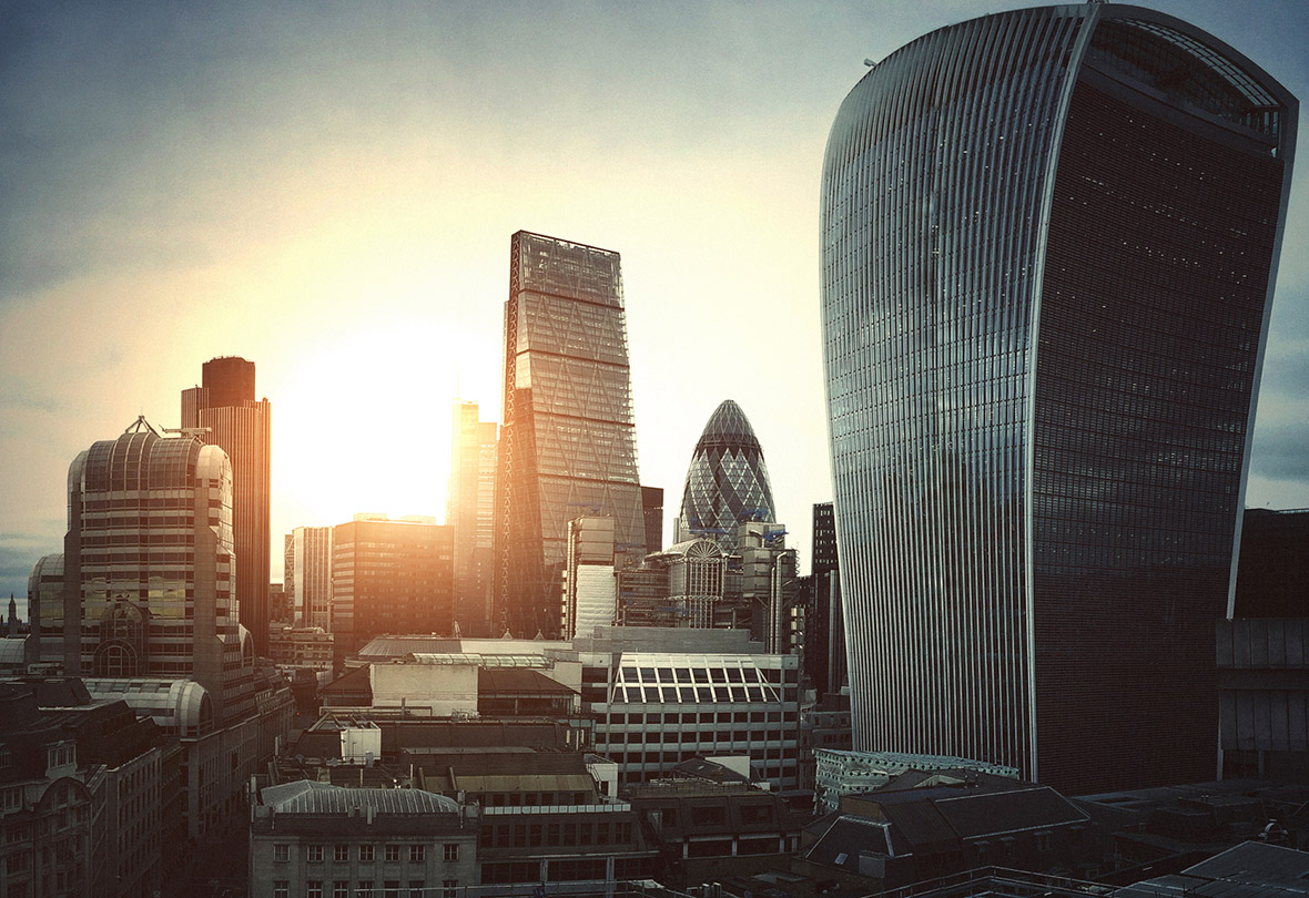 dawn optimism London city