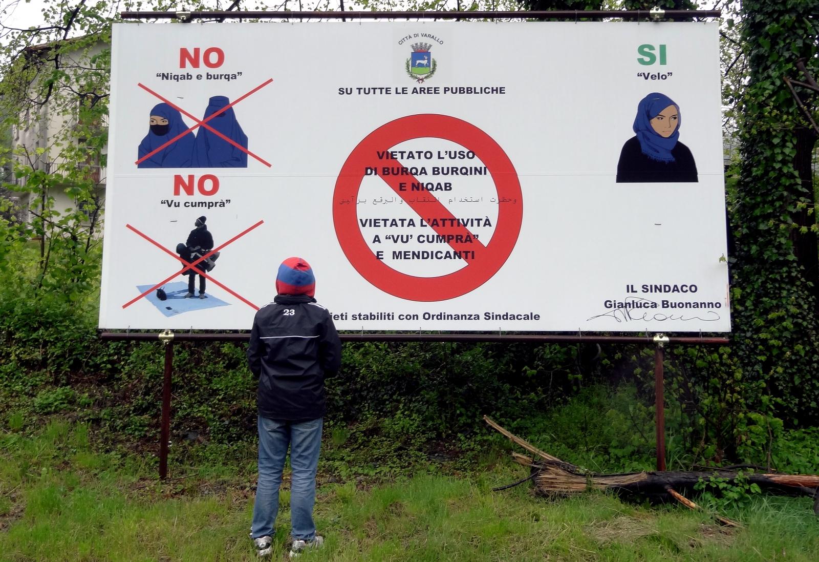 islam muslim clothing bans europe