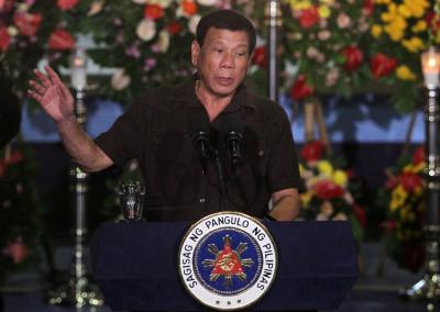 Philippines drug war Duterte
