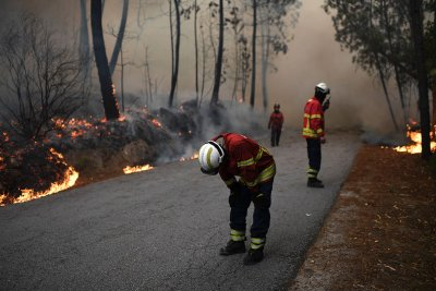 Northern Portugal fire