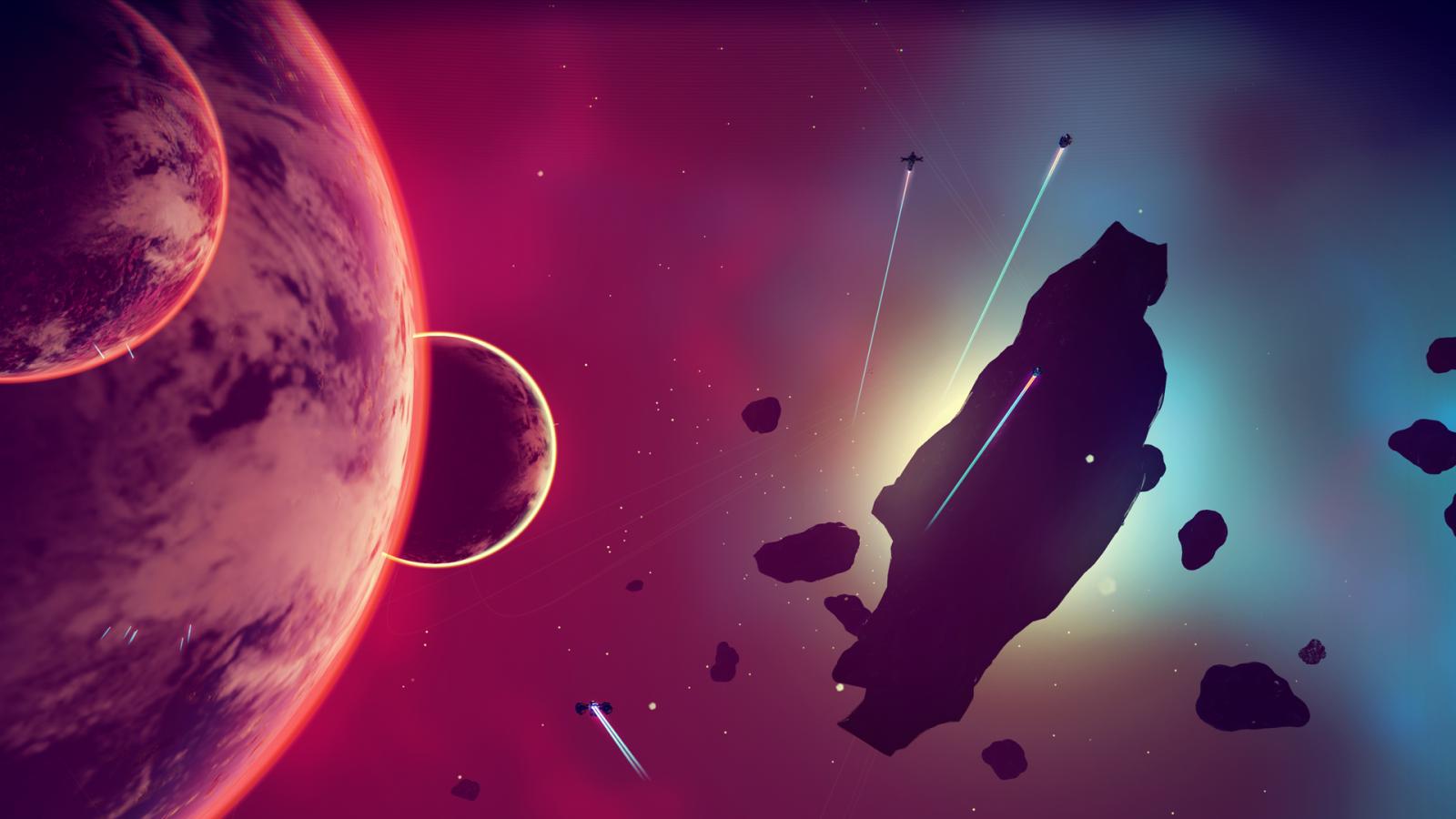 No Man's Sky screenshot space
