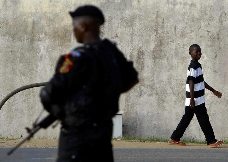 Angola police