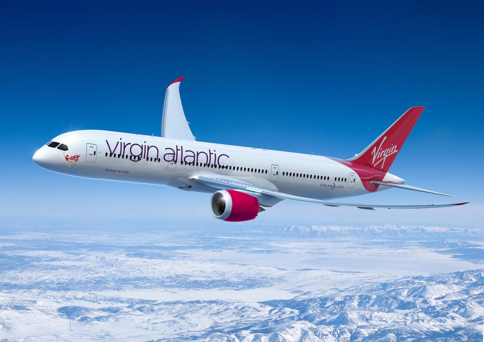 Virgin Atlantic live TV in-flight