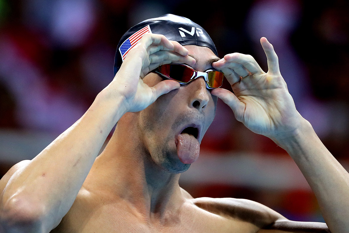 Funny Olympic Swimmer Faces