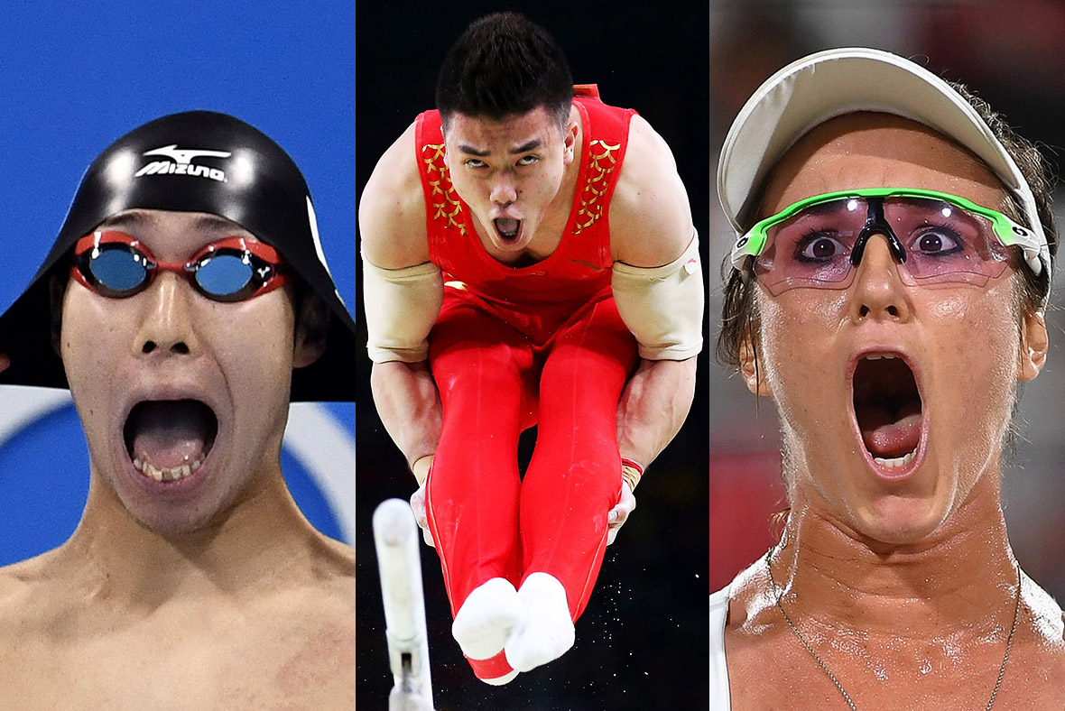 Funny Olympic Moment