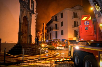 Portugal wildfires Funchal Madeira