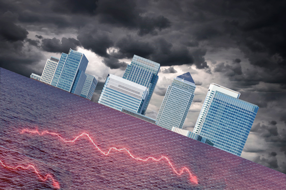 uk markets slide