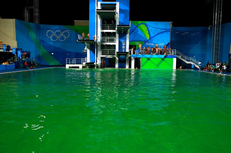 Rio diving pool