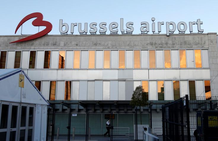 Zaventem international airport near Brussels
