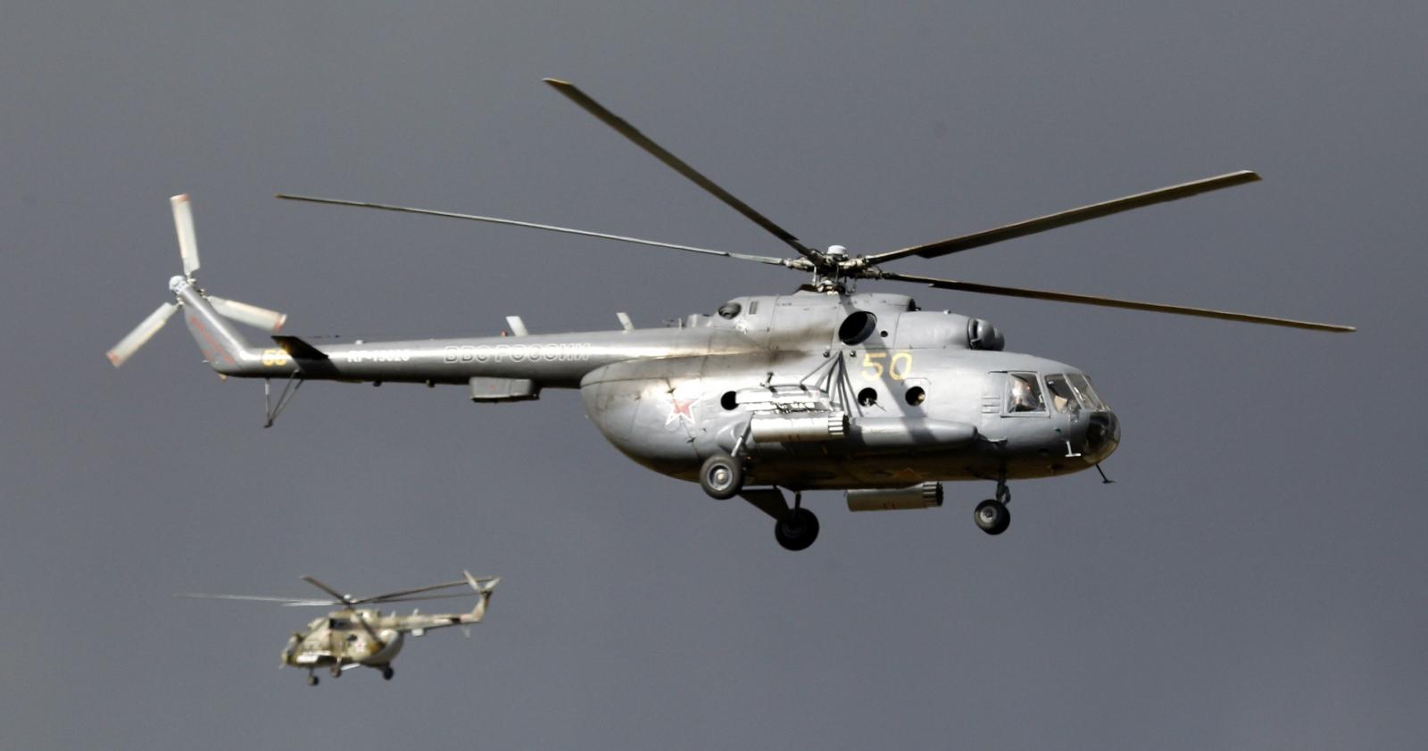 Mi-8 aircraft
