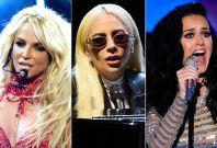 Britney, Gaga, Katy