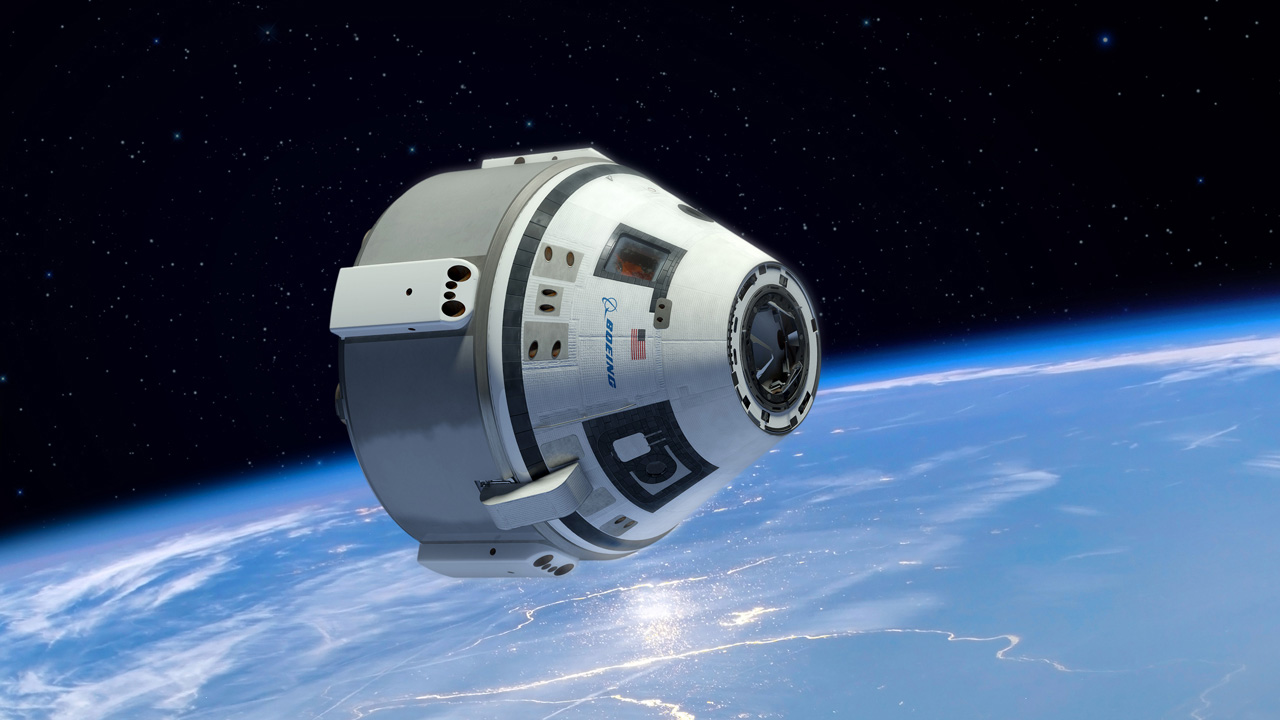 Boeing Starliner CST-100 crew taxi vehicle