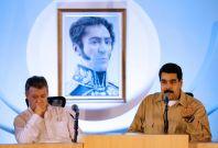 Venezuela's President Nicolas Maduro (