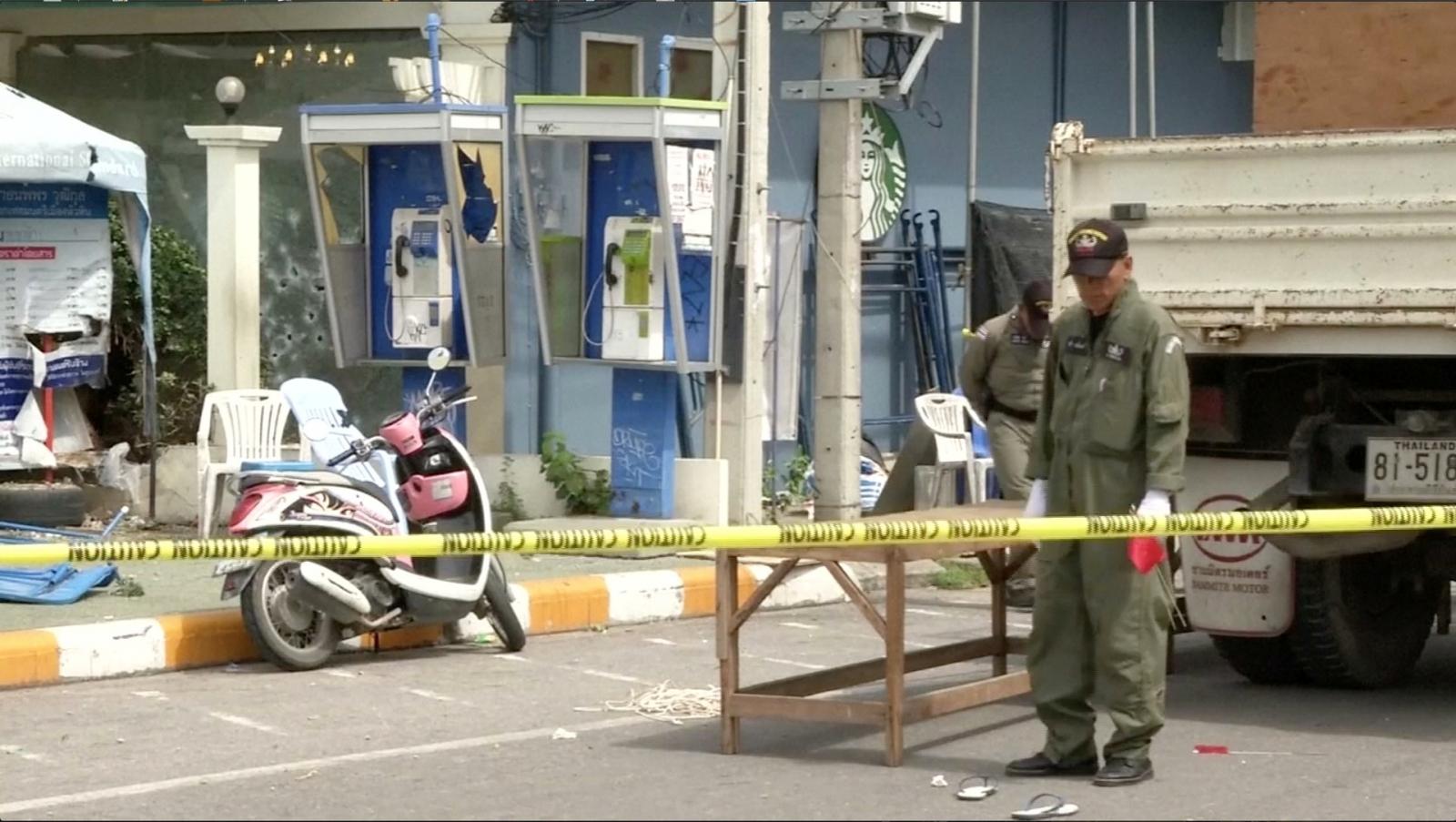 Thailand bomb blasts