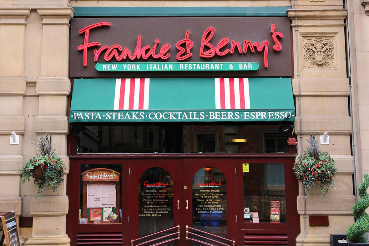 Frankie & Benny's restaurant