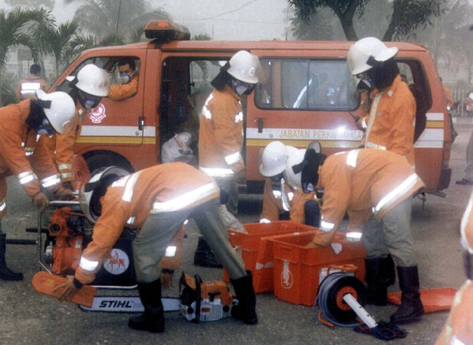 Malaysia firefighter