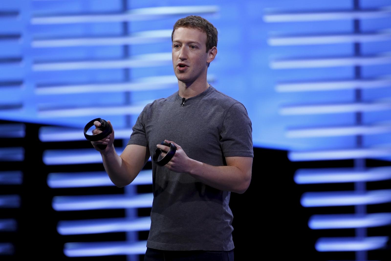 Facebook CEO Marc Zuckerberg