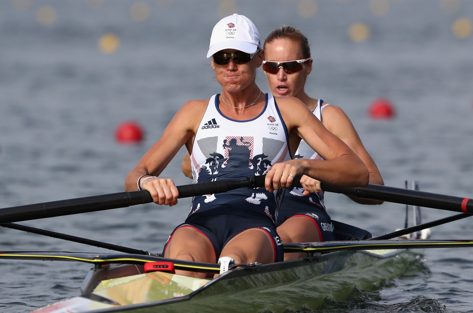 Olympics-Rowing-Britannia rules the waves with two golds
