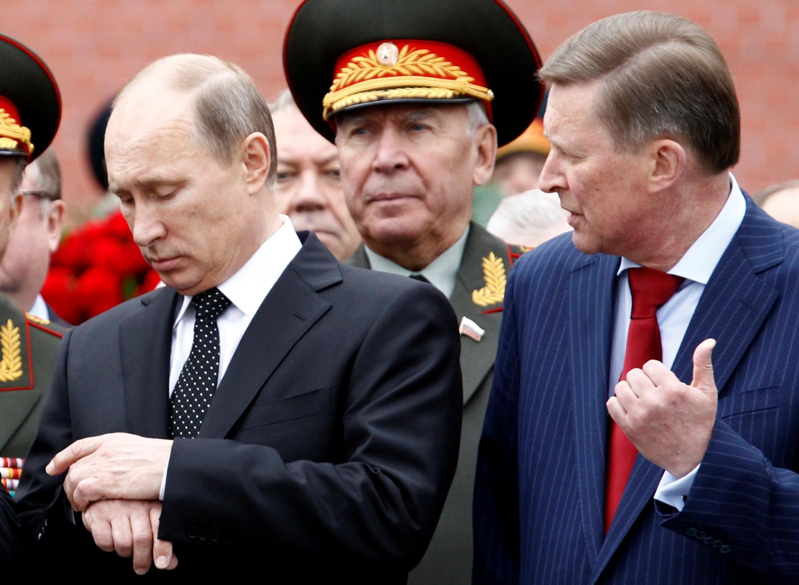 Ivanov and Putin